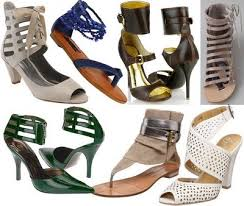 ankle cuff shoe
