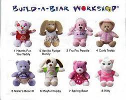 build a bear teddies