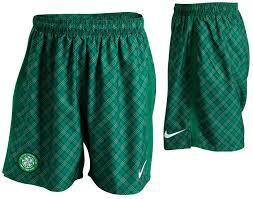 celtic tartan shorts