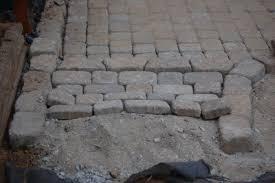 cobblestone patios