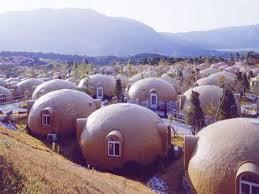 foam dome house