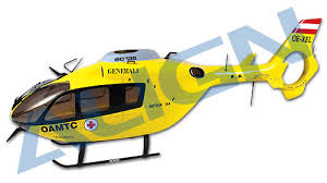 trex 450 fuselage