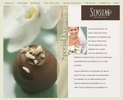chocolate web site