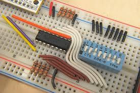 breadboard circuit