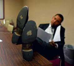 barack obama shoes
