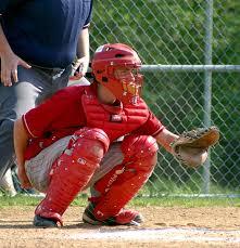 baseball catching gear