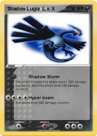 shadow lugia lv x