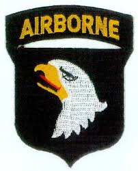 screaming eagles patch