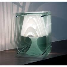 modern glass lamp