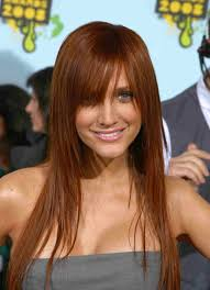red hair colouring