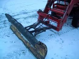 loader snow plow