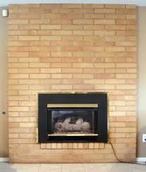 paint brick fireplace