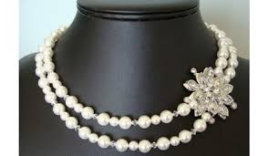 vintage bridal necklaces