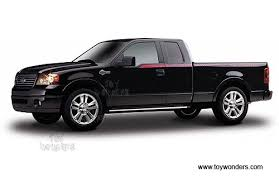 black ford trucks