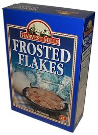 frosted flakes nutritional facts