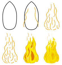 fire cartoon pictures