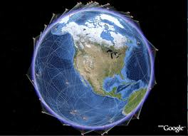 satellite images of the earth