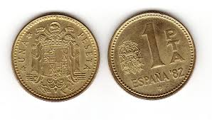 1 pesetas