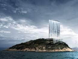 solar waterfalls