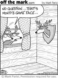 deer hunting cartoons