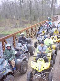 4 wheeling trails