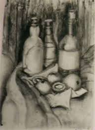 bottles drawings