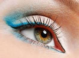 how to wear eye make up