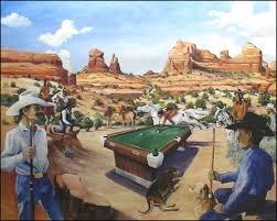 billiard artwork