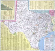 road map texas