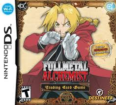 full metal alchemist cards