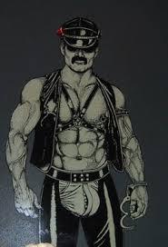 leather men photos