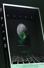 alien 3d poster