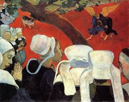 paul gauguin the vision after the sermon