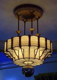 art deco chandeliers