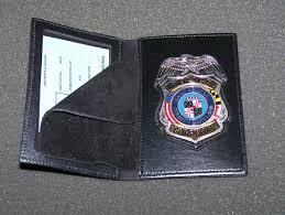 law enforcement badge wallets