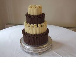 chocolate wedding cake pictures