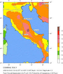 earthquake fault line map