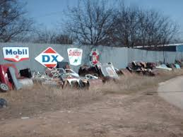 old car junk yards