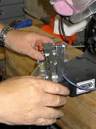chain saw sharpening