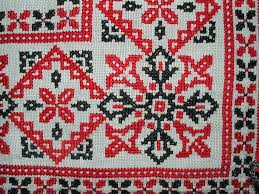 embroidery cross