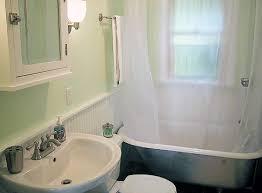 claw foot bathtub shower