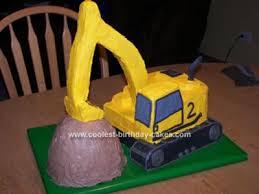 excavator cakes