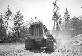 antique caterpillar tractors
