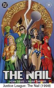 justice league the nail