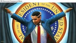 painting of obama