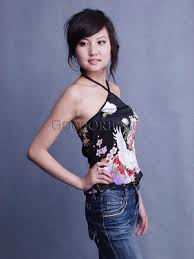 chinese halter tops