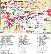 ancient rome maps