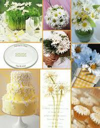daisy wedding decor