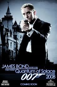 bond movie posters