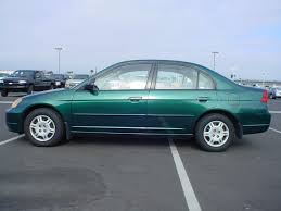 green honda civic